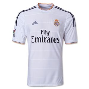 adidas Real Madrid 13/14 Home Soccer Jersey