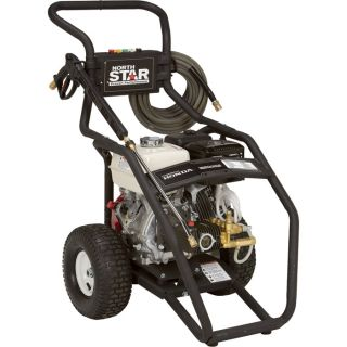 NorthStar Gas Cold Water Pressure Washer   3.5 GPM, 4000 PSI, Model 15781520