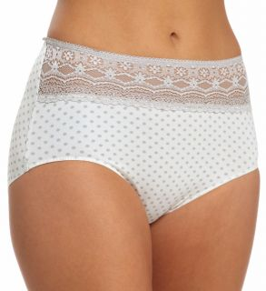 Naomi & Nicole A165 Wonderful Edge Lace Trim Modern Panty