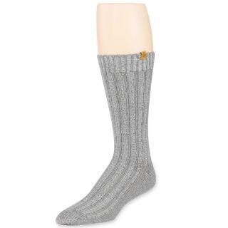Eddie Bauer Classic Rag Boot Socks, Grey, Mens