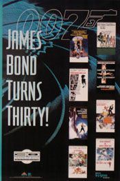 James Bond Turns Thirty Movie Poster