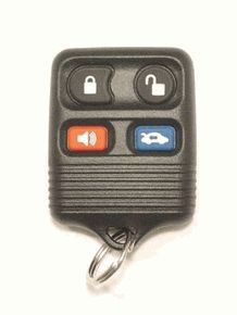 1996 Lincoln Continental Keyless Entry Remote