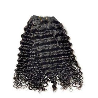 Brazilian Deep Wave Weft 100% Virgin Remy Human Hair Extensions 30 Inch 3Pcs