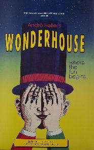 Wonderhouse (Original Broadway Theatre Window Card)