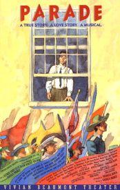 Parade (Original Broadway Theatre Window Card)