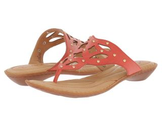 Born Milena   Crown Collection Womens Sandals (Red)