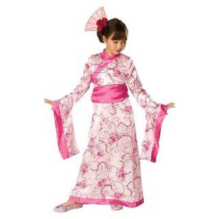 Girls Cherry Blossom Princess Costume