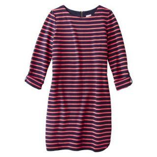 Merona Womens French Terry Dress   Pink/Blue   M