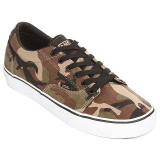 Vans Kress Mens Skate Shoes, Camo