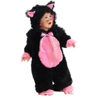 Infant Black Kitty Costume (6 12M)