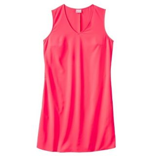 Merona Womens Woven Front Pocket Dress   Extra Pink   L
