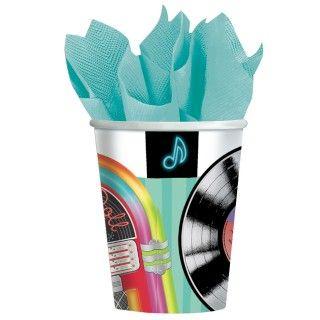 Sock Hop 9 oz. Paper Cups