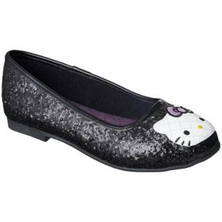 Girls Hello Kitty Ballet   Black 4