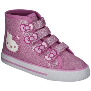 Toddler Girls Hello Kitty High Top Sneaker   Pink 10