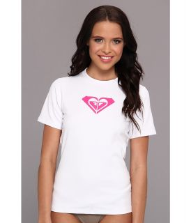 Roxy Basically Roxy S/S Surf Shirt Womens Swimwear (White)