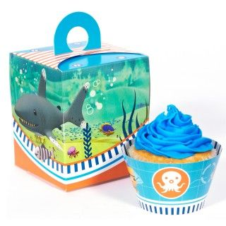 The Octonauts Cupcake Wrapper Combo Kit