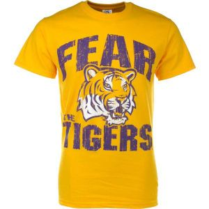 LSU Tigers New Agenda NCAA Fear Mascot T Shirt