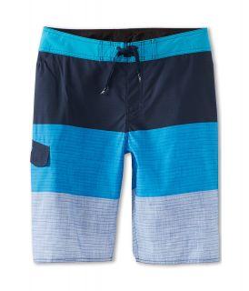 Quiksilver Kids Sliced Boardshort Boys Swimwear (Blue)