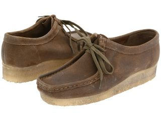 Clarks Wallabee Womens Lace up casual Shoes (Taupe)