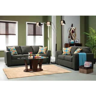 Furniture Of America Playan 2 piece Fabric Sofa And Loveseat Set