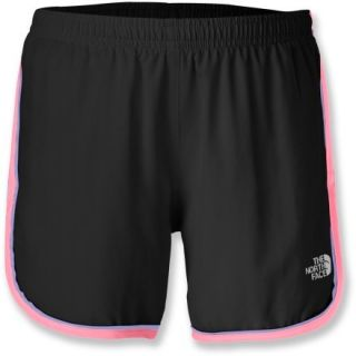 The North Face Velocitee Shorts  Girls,  TNF Black/SUGARY Pink,  M (1012)