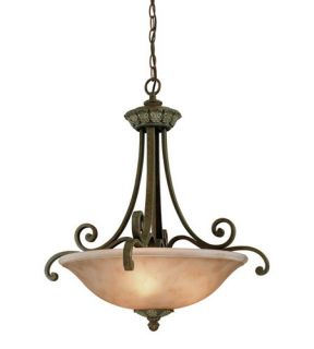 Windsor 3 Light Pendants in Sante Fe 823 38