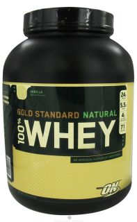 Optimum Nutrition   100% Whey Gold Standard Natural Protein Vanilla   5 lbs.