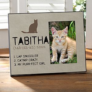 Personalized Cat Picture Frames   Definition Of My Cat