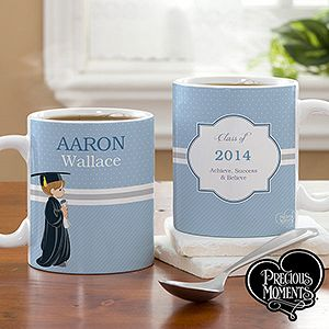 Personalized Graduation Coffee Mugs   Precious Moments