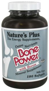 Natures Plus   Bone Power   180 Softgels