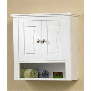 Fairmont Designs Lifestyle Collection Bowtie Bath Valet   White