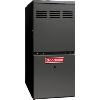 Goodman GMH80803BN 90,000 BTU, 80 Efficiency, TwoStage Burner, 3Speed Blower, Upflow/Horizontal Application Gas Furnace