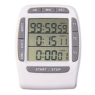 Intelligent Kitchen Timer With Memory Function(Color Sent Randomly)