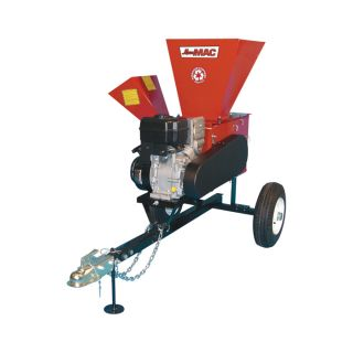 Merry Mac Highway Towable Chipper/Shredder   249cc Briggs & Stratton Intek OHV
