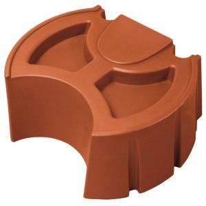 Good Ideas 50 gal. Terra Cotta Rain Barrel Stand RW50ST TC
