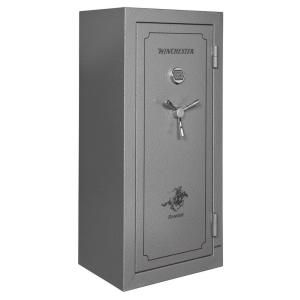 Winchester Safes Ranger 24 Gun Electronic Lock UL Listed 59 in. H x 28 in. W x 22 in. D Gun Safe with 1.25 in. Locking Bolts DISCONTINUED RAN 19 GRANITE E