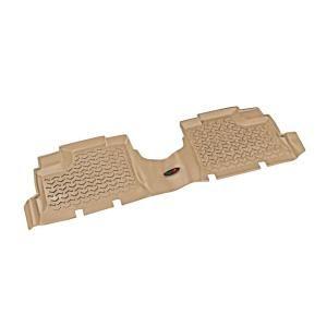 Floor Liner Rear 1 Piece Tan 2007 2013 Jeep Wrangler Unlimited JK 13950.01