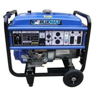 Blue Max 8,000 Watt Gasoline Generator with 13 HP OHV Engine and Wheel Kit 6836