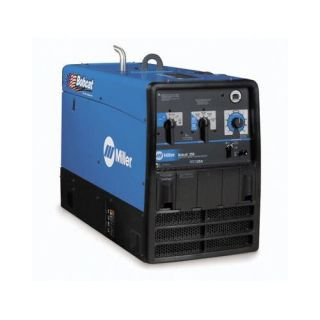 Miller Electric Mfg Co Bobcat 250 Generator Welder 250A with 23HP Subaru Engine and Standard Receptacles Tools