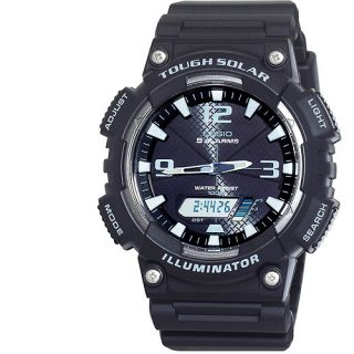 Purchase the Casio Mens Solar Sport Watch for less at. Save money. Live better.