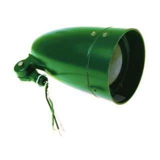 Bell 1 Light 120 Volt Outdoor Green Bullet Light 5820 8