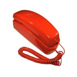 Golden Eagle Standard Trimstyle Phone   Red GOLD GE 5303 RE