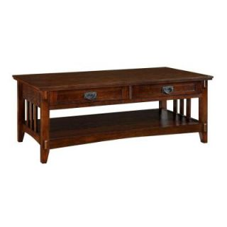 Home Decorators Collection Artisan Light Oak Coffee Table 0290200950