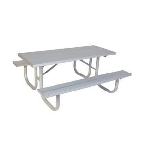 Ultra Play 8 ft. Aluminum Commercial Park Portable Table G238 A8