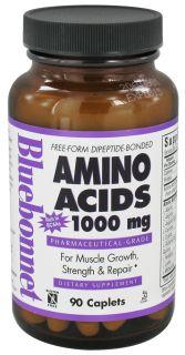 Bluebonnet Nutrition   Amino Acids 1000 mg.   90 Caplets