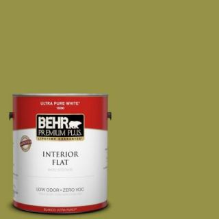 ... BEHR Premium Plus Home Decorators Collection 1 Gal. #HDC FL13 8 Tangy  Dill Flat ...