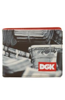 DGK The Stacks Wallet in Black