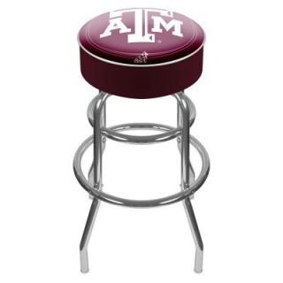 Trademark Texas A and M University Padded Swivel Bar Stool LRG1000 TAMU