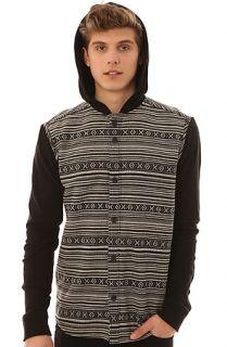 ZAK Shirt Hooded Buttondown in Black