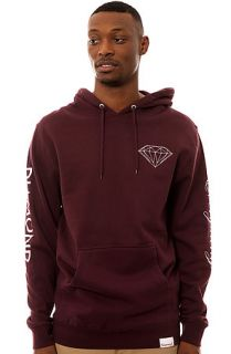 Diamond Supply Co. Diamond Everything Hoody in Burgundy